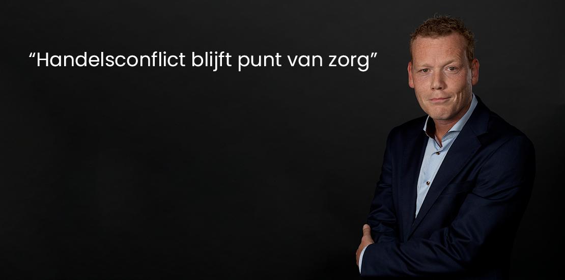 """Visie december 2019 """"Handelsconflict blijft punt van zorg"""""""
